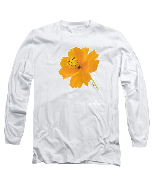Yellow Coreopsis Long Sleeve T-Shirt