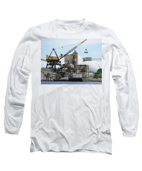 Yellow Crane Long Sleeve T-Shirt