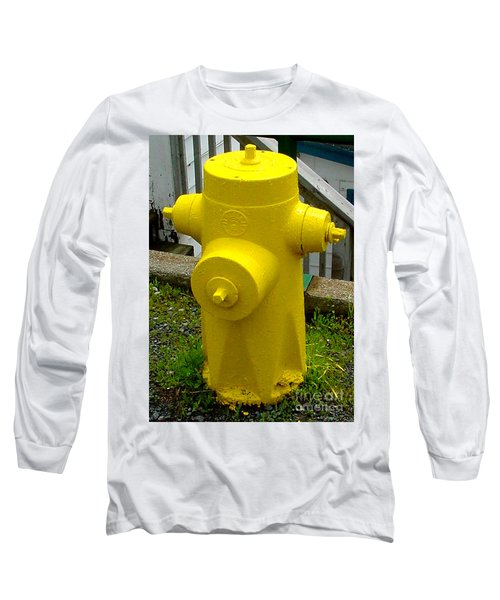 Yellow Hydrant Long Sleeve T-Shirt