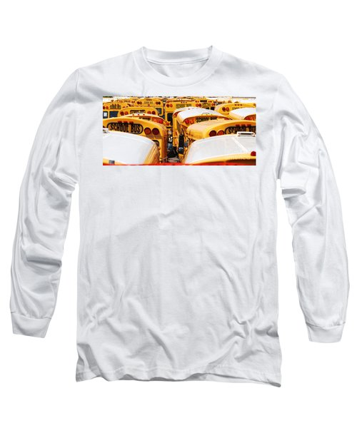 Yellow School Bus Long Sleeve T-Shirt