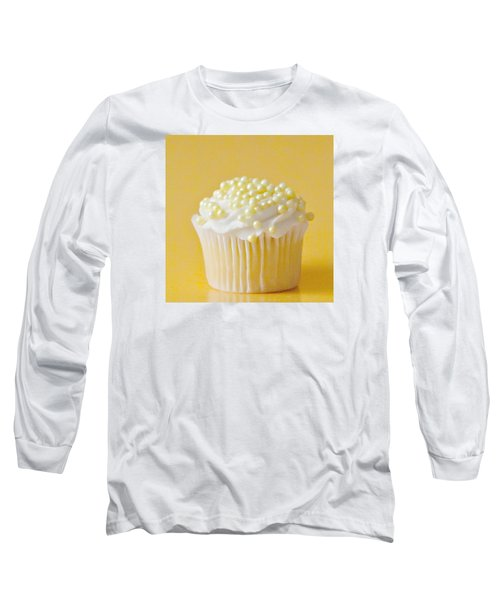 Yellow Sprinkles Long Sleeve T-Shirt by Art Block Collections