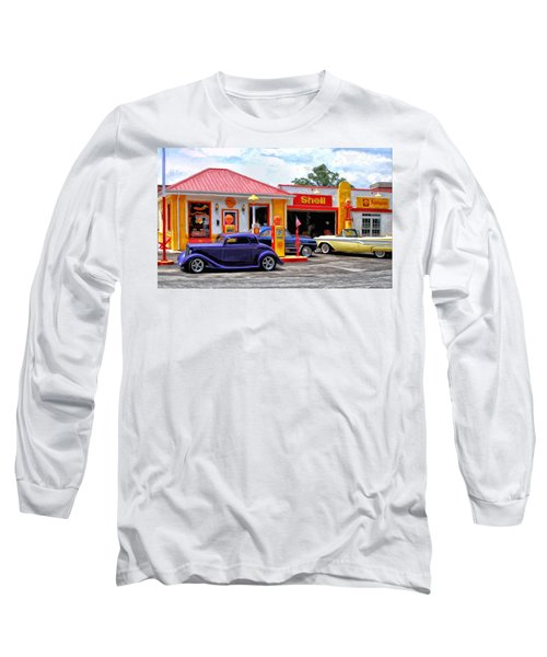 Yesterday's Shell Station Long Sleeve T-Shirt