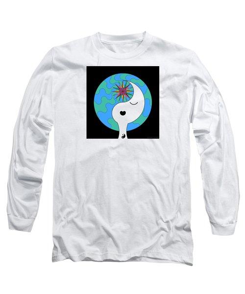Yin Yang Crown 4 Long Sleeve T-Shirt