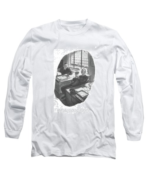 You Know, Life At Sea Must Be Quite Interesting - Long Sleeve T-Shirt