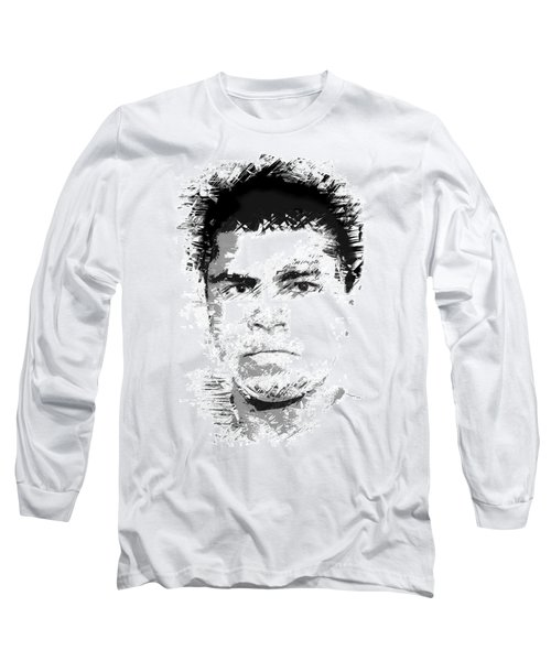 Young Cassius Clay Long Sleeve T-Shirt