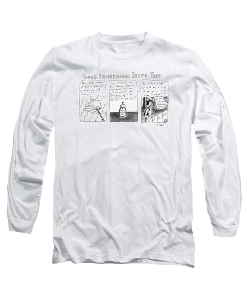 Young Professional Recipe Test Long Sleeve T-Shirt