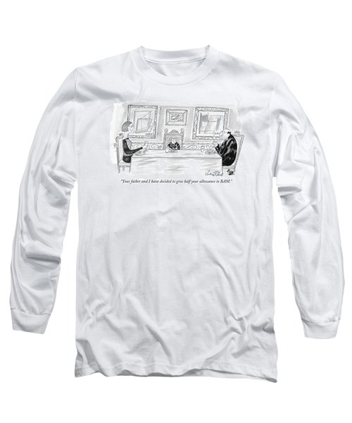 Your Father And I Have Decided To Give Half Long Sleeve T-Shirt
