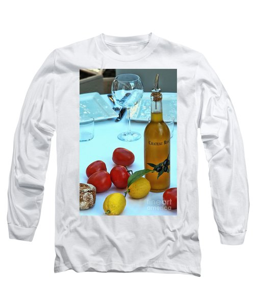 Long Sleeve T-Shirt featuring the photograph Your Table Is Ready by Allen Beatty