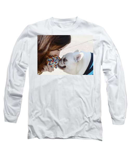 Long Sleeve T-Shirt featuring the photograph Yummmm by Lisa Phillips