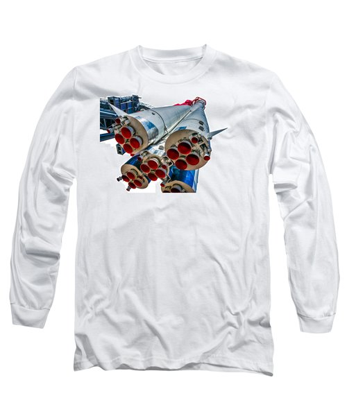 Yuri Gagarin's Spacecraft Vostok-1 - 5 Long Sleeve T-Shirt by Alexander Senin