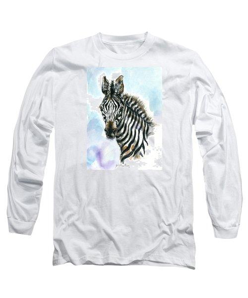 Zebra 1 Long Sleeve T-Shirt