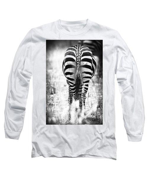 Zebra Butt Long Sleeve T-Shirt