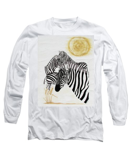 Zebra Quintet Long Sleeve T-Shirt