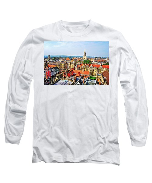 Oxford Cityscape Long Sleeve T-Shirt