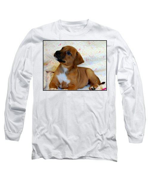 Long Sleeve T-Shirt featuring the photograph   Take Me Home Please by Peggy Franz