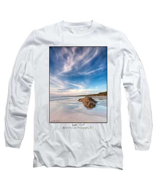 Welsh Coast - Porth Colmon Long Sleeve T-Shirt