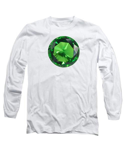 Emerald Isolated Long Sleeve T-Shirt