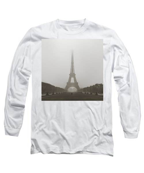 Foggy Morning In Paris Long Sleeve T-Shirt