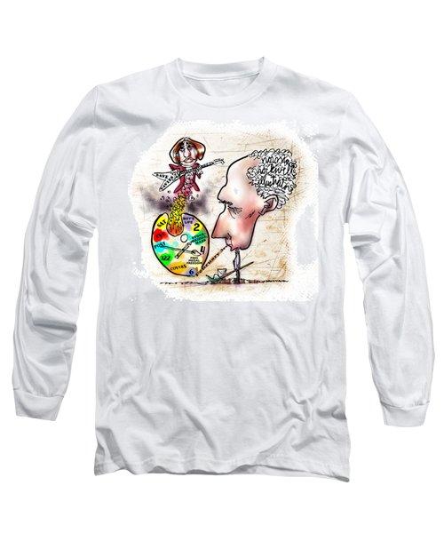 Happy Birthday Norman Rockwell Long Sleeve T-Shirt