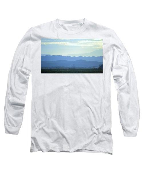 Long Sleeve T-Shirt featuring the photograph Layers by Rima Biswas