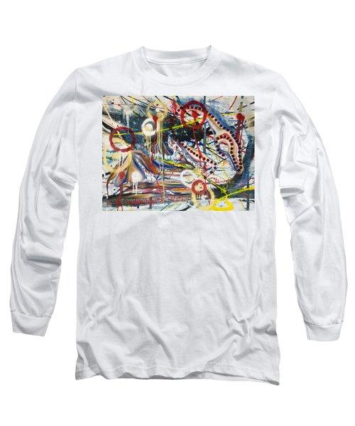 Metronomes Long Sleeve T-Shirt by Sheridan Furrer