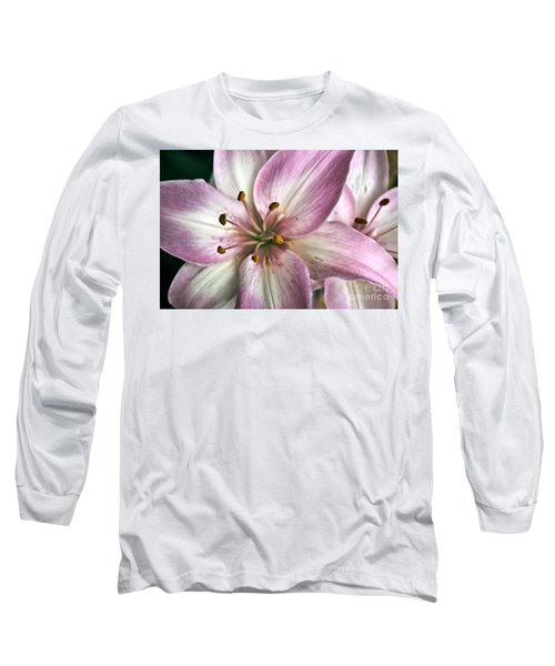 Pink Asiatic Lily Long Sleeve T-Shirt