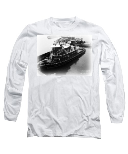 Tug  Long Sleeve T-Shirt by Kristine Nora
