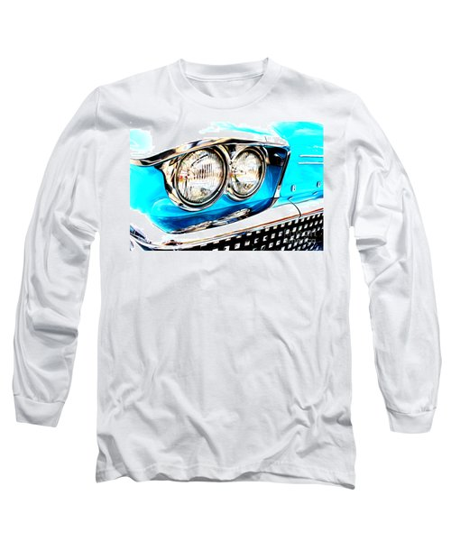 Long Sleeve T-Shirt featuring the digital art 1958 Buick by Tony Cooper