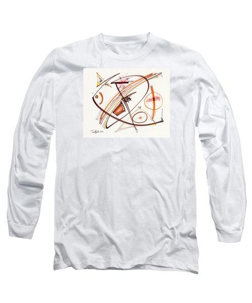 2012 Drawing #14 Long Sleeve T-Shirt by Lynne Taetzsch