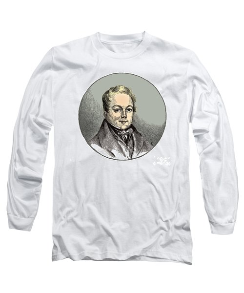 Fran�ois Magendie, French Physiologist Long Sleeve T-Shirt