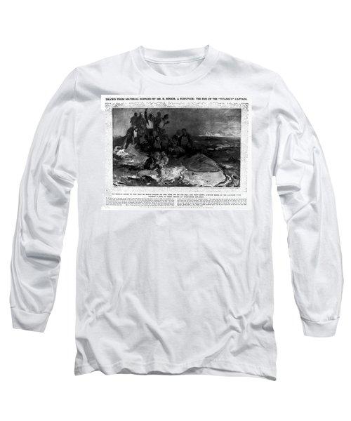 Titanic: Sinking, 1912 Long Sleeve T-Shirt