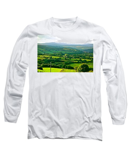 Long Sleeve T-Shirt featuring the photograph 50 Shades Of Green by Charlie and Norma Brock