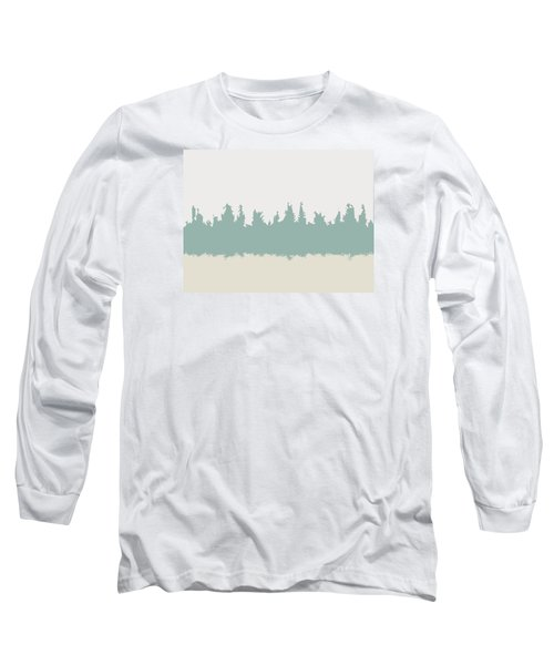 Long Sleeve T-Shirt featuring the digital art Above And Below by Jeff Iverson