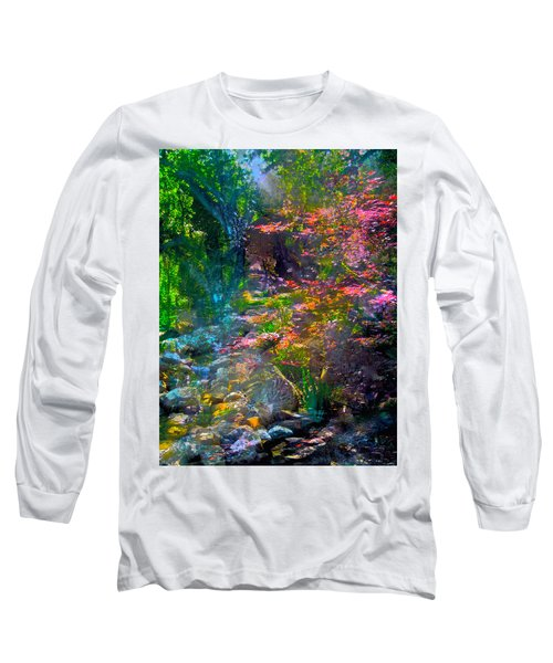 Abstract 86 Long Sleeve T-Shirt