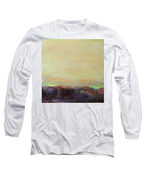 Abstract Landscape - Rose Hills Long Sleeve T-Shirt by Kathleen Grace