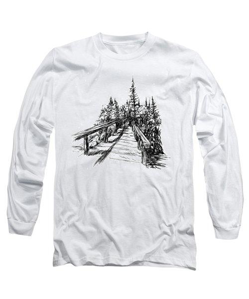 Across The Bridge Long Sleeve T-Shirt