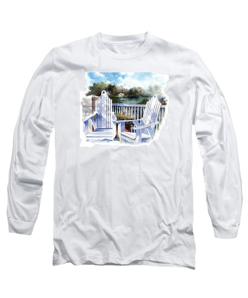 Adirondack Chairs Too Long Sleeve T-Shirt