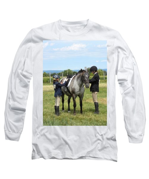 Adjustment To Be Made Long Sleeve T-Shirt