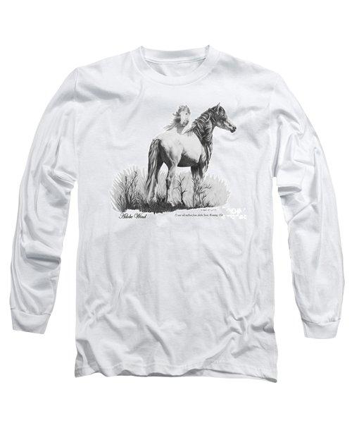 Adobe Wind Long Sleeve T-Shirt by Marianne NANA Betts