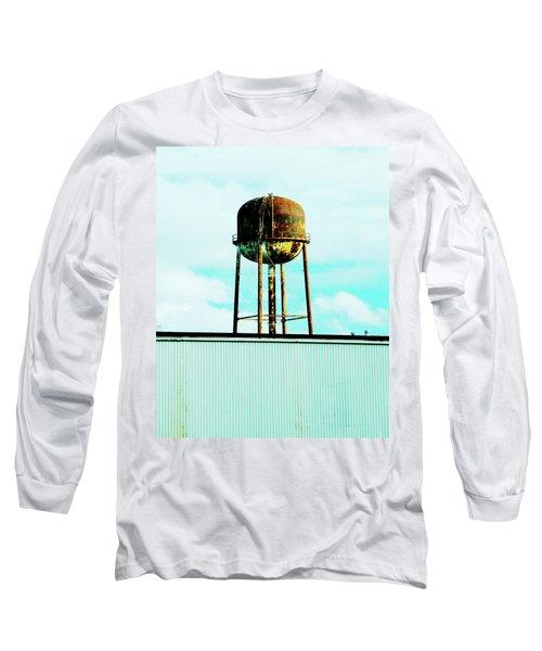 Long Sleeve T-Shirt featuring the photograph Along Highway 61 by Lizi Beard-Ward