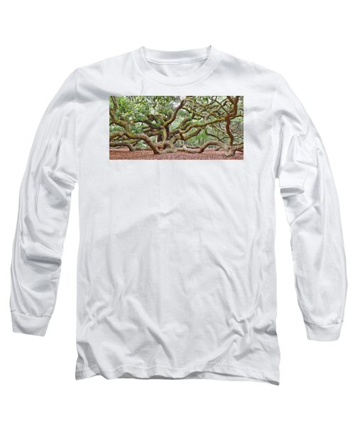 Long Sleeve T-Shirt featuring the photograph Angel Oak by Val Miller