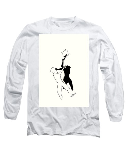 Apollo And Daphne In Pietrasanta Long Sleeve T-Shirt