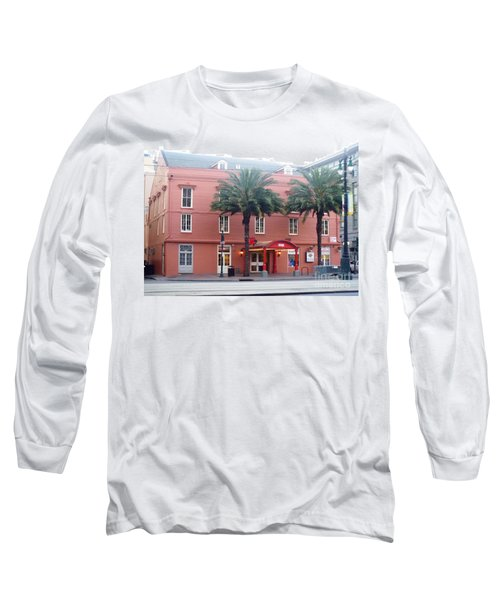 Long Sleeve T-Shirt featuring the photograph Arby's At Dawn by Alys Caviness-Gober
