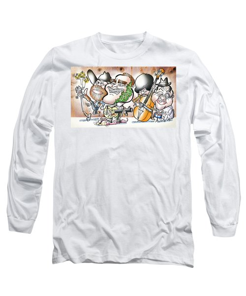 Arnold And The Terminators Long Sleeve T-Shirt