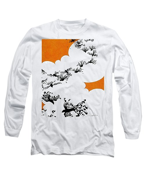 As The Crows Fly Long Sleeve T-Shirt