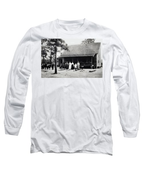 At Home  Long Sleeve T-Shirt