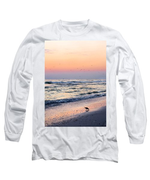 At Sunset Long Sleeve T-Shirt by Angela Rath