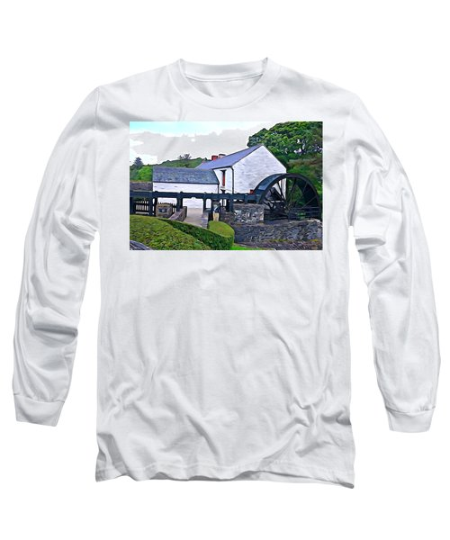 Long Sleeve T-Shirt featuring the photograph Auld Mill  by Charlie and Norma Brock