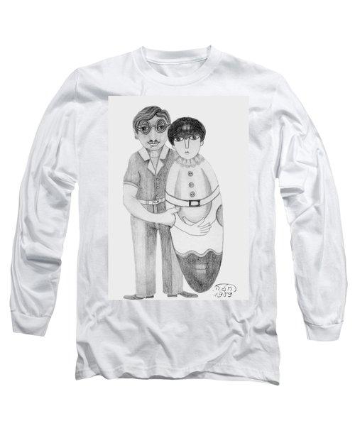 Babushka Long Sleeve T-Shirt by Rachel Hershkovitz