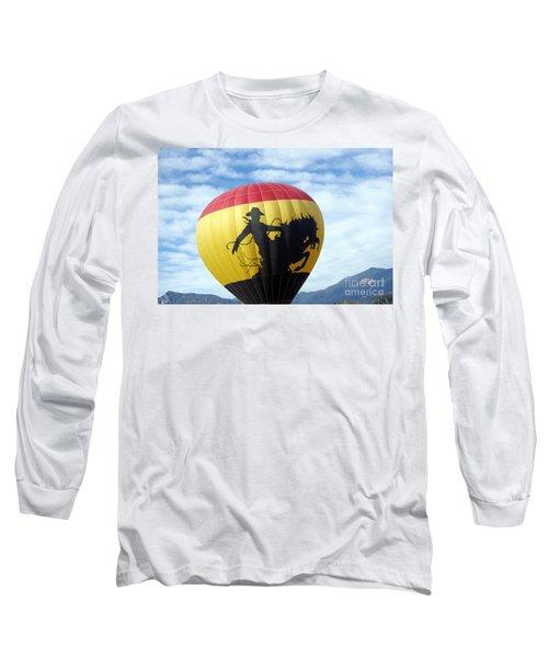 Long Sleeve T-Shirt featuring the photograph Balloon 24 by Deniece Platt